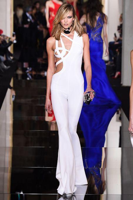 Atelier #Versace Spring 2015 Couture Runway – #Vogue