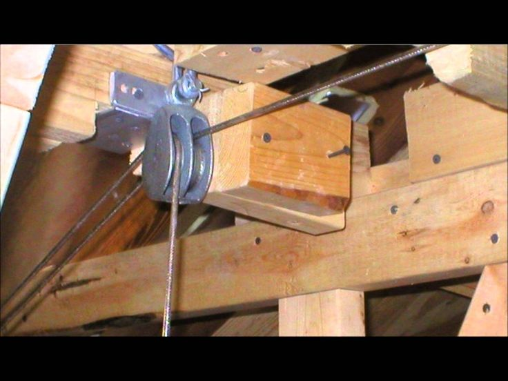 Pulling Door Vertically With Pulley System Google Search
