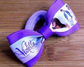 Elastico per capelli Violetta lilla e viola : Accessori per capelli di latipadeltappo