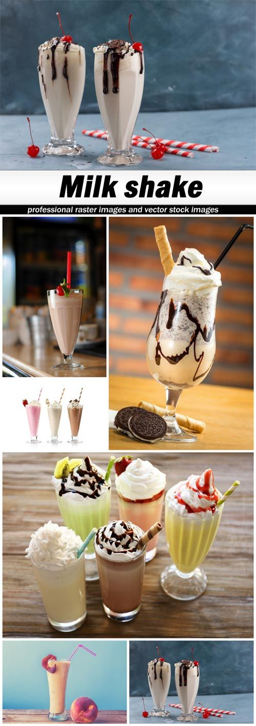 Milk shake - 6 UHQ JPEG