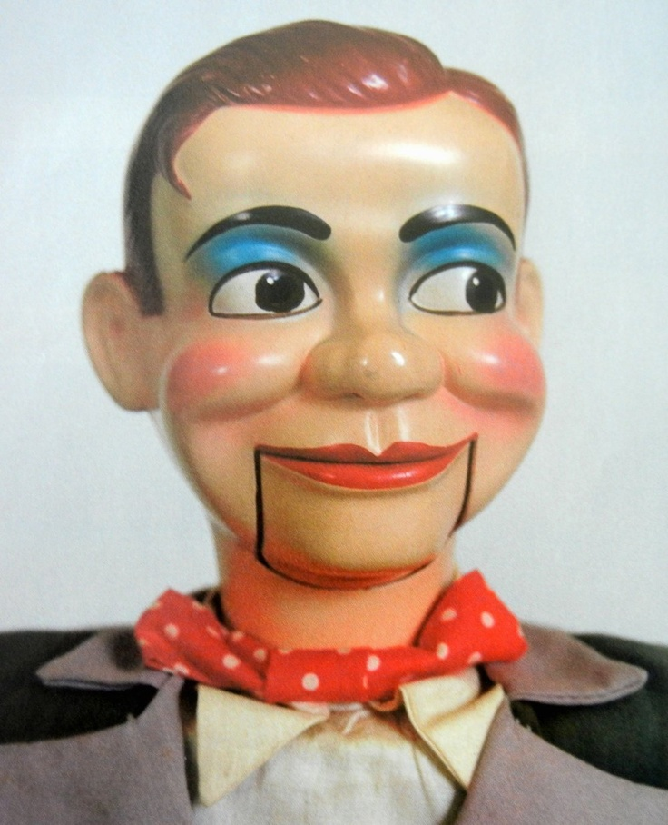 VTG Article + Color Pics/Info - Juro Novelty's Jerry Mahoney Dummy Doll History