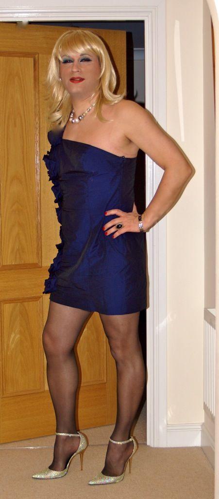 black off shoulder top, floral skater skirt, nude heels