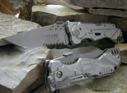 Schrade Spring Assisted Knives for sale - Blade HQ