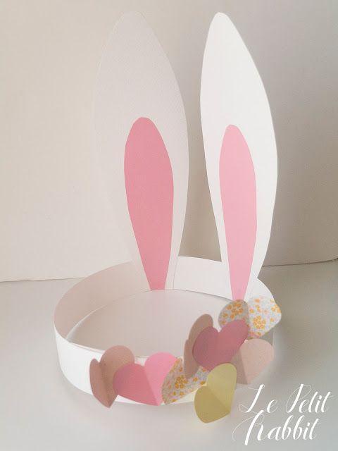 Bunny ears DIY by Le Petit Rabbit
