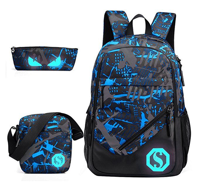 a9059ab68866 Full sized backpack. Comes with lunch box and pencil case. | For ...
