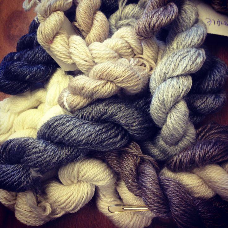 Alpaca supreme! By John Arbon textiles. Alpaca, merino and silk spun together!