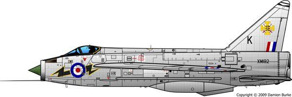 XM192 F1A 111 Squadron RAF Wattisham 1961