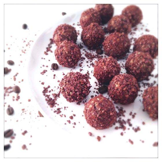 Raw Vegan Koffie-Chocoladetruffels