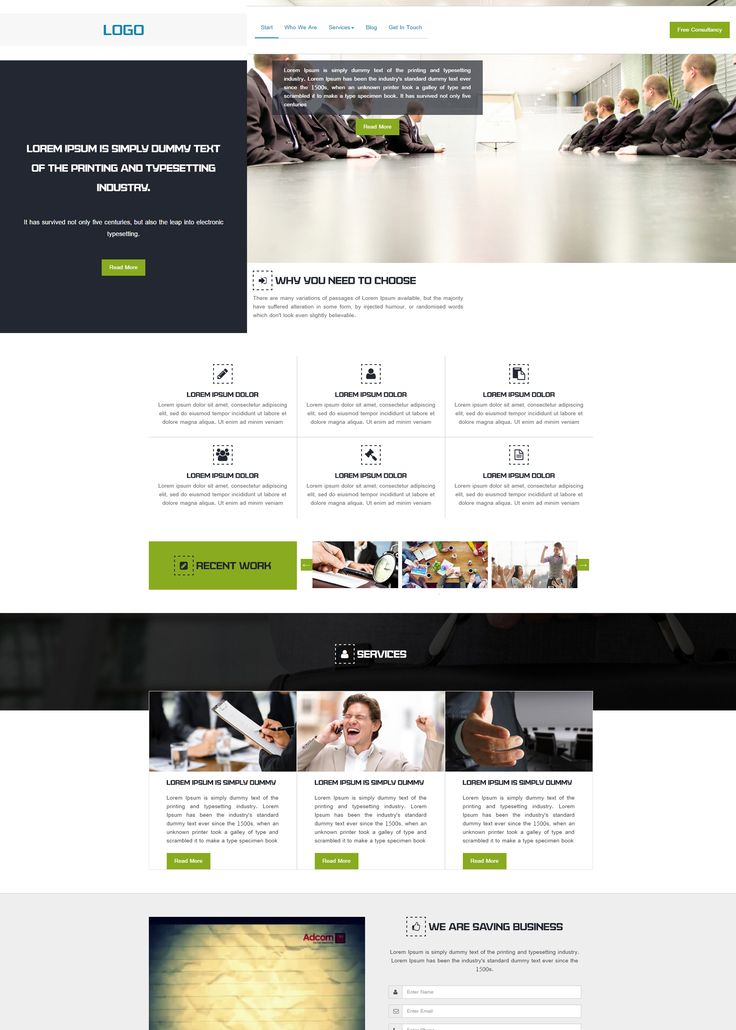 #BusinessWebsiteTemplates