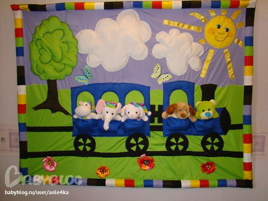 play mat. Make as a two page layout using finger puppets for the animals