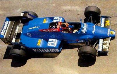 1984 Piercarlo Ghinzani; Osella FA1F