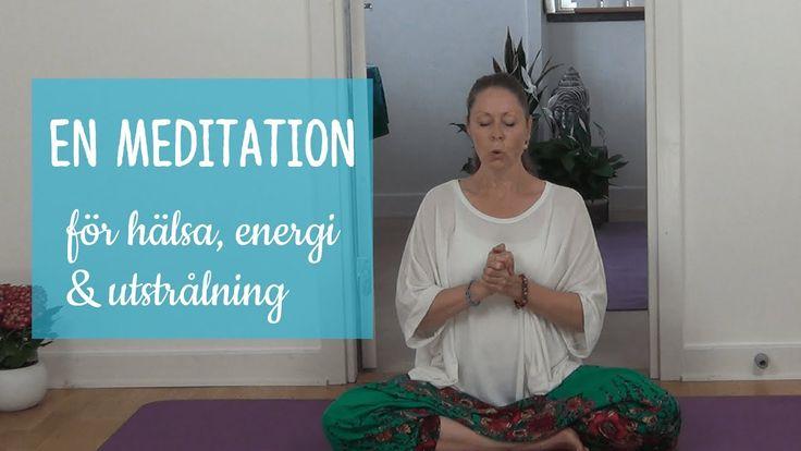 En meditation för hälsa, energi och utstrålning.  #meditation #kundaliniyoga #stress