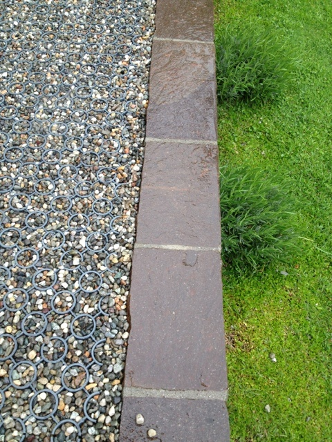 Bordure de s paration de pelouse plantes am nagement for Amenagement pelouse