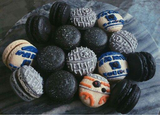 Star Wars Macarons.