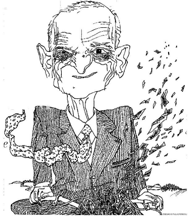 Tullio Pericoli   Giorgio Caproni