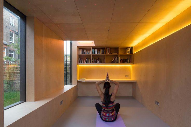 Shedworking: Yoga/psychiatrist studio