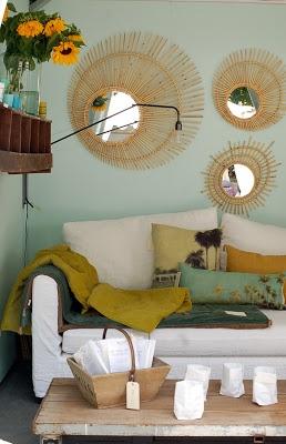 les 25 meilleures id es de la cat gorie miroirs ronds sur pinterest entr e tag re l 39 entr e. Black Bedroom Furniture Sets. Home Design Ideas