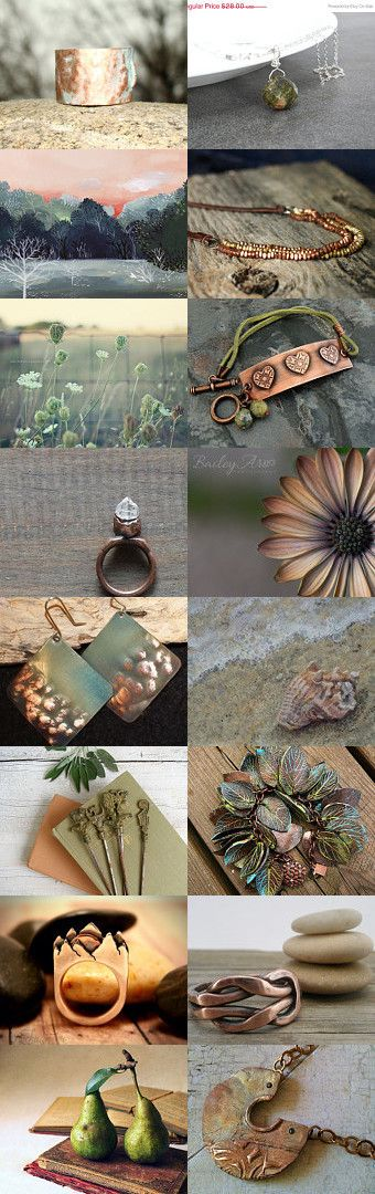 Copper Sunset by Dana Marie on Etsy--Pinned with TreasuryPin.com