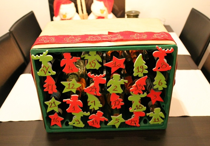 21 best images about christmas on pinterest each day for Advent crafts for adults