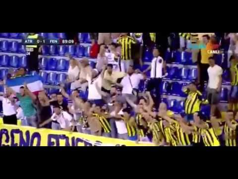 Robin van Persie   Atromitos 0 1 Fenerbahçe   UEFA Avrupa Ligi   20.08.2015 - YouTube
