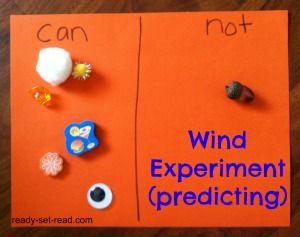 preschool theme, preschool activities, wind activities, image