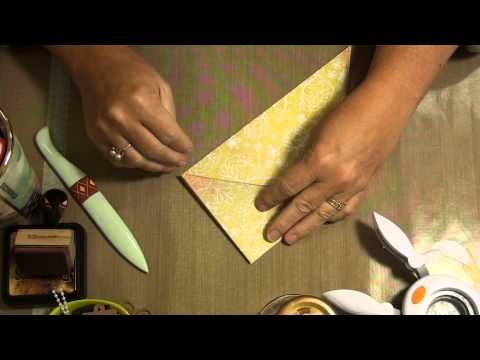 Folded Pocket Tutorial for Junk Journals - YouTube