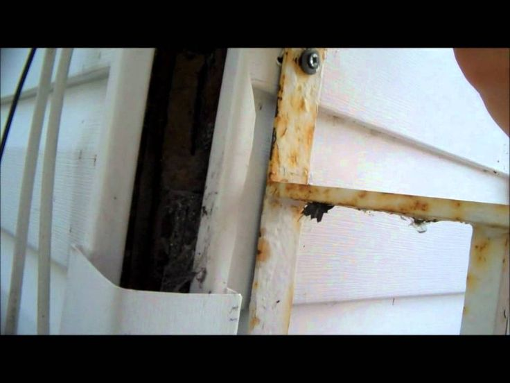 Vinyl Siding Corner Repair Home Improvement Help Diy