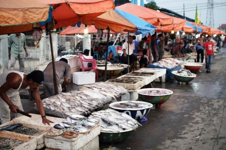 Muara Karang fish market Jakarta - Indonesia