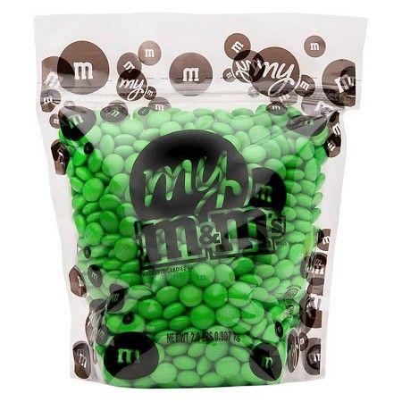 M&M's Light Green 2 LB : Target