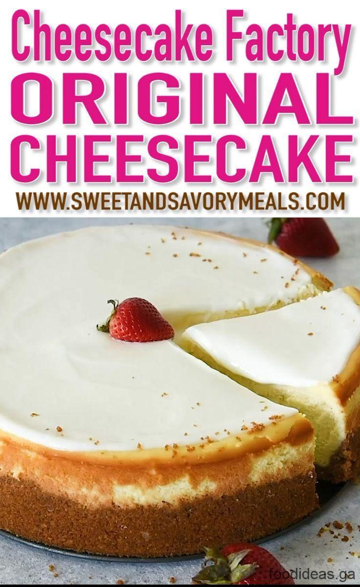 cheesecake factory recept