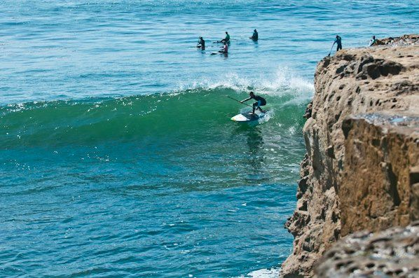 """SANTA CRUZ PADDLEFEST 2015 29 years ago, when the closest thing to a """"surf kayak"""" was still a whitewater boat and SUP was nothing more than a colloquial greeting, the Santa Cruz Paddlefest was born. Nearly three decades later, in addition to a SUP race from Santa Cruz Warf to the harbor and back, the competition features three divisions of surf kayaking competition and best of all, a SUP surfing contest at Santa Cruz's most iconic break, Steamer Lane."""
