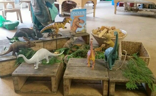 It's all about dinosaurs at Chadwell Pre-school