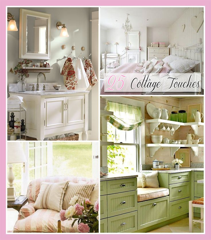 25 Cottage Touches - The Cottage Market #CottageTouches, #CottageStyle, #CottageHomeDecorIdeas