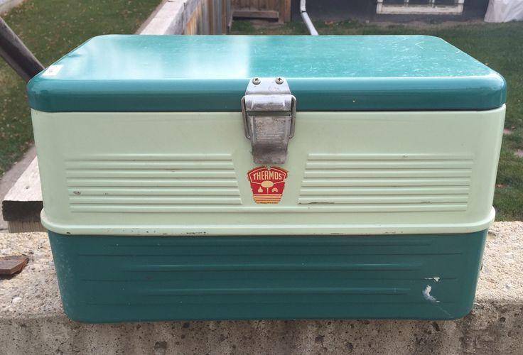 Vintage Thermos Ice Box
