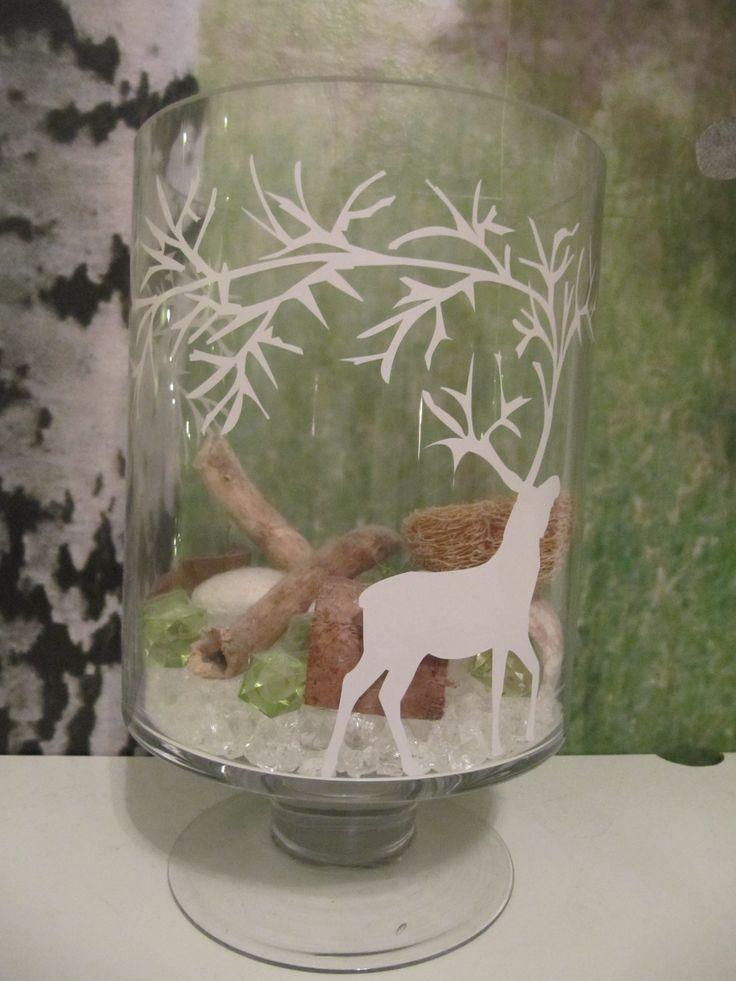 Reindeer vase Bedroom decoration