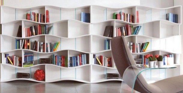 Modern Ev Kütüphanesi Modelleri