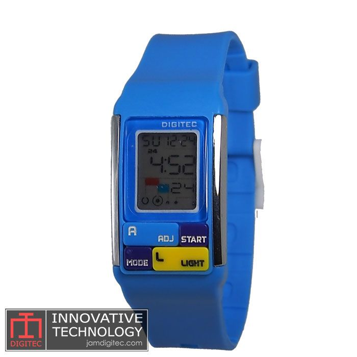 jam tangan digitec wanita DG-3005T Biru