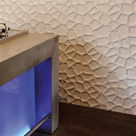 set de paneles con relieve para pared gaps