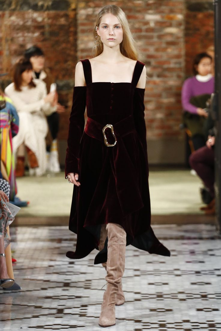 The complete ADEAM Fall 2018 Ready-to-Wear fashion show now on Vogue Runway.