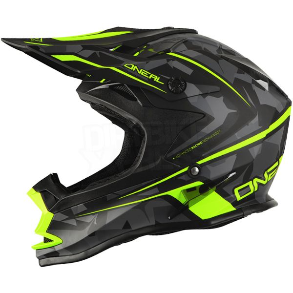 2016 ONeal 7 Series Evo Motocross Helmet - Camo Black Hi Viz