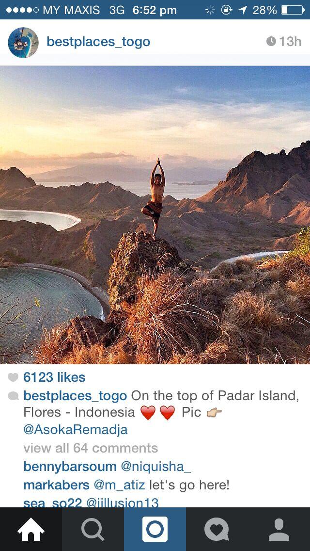 PADAR ISLANDS FLORES-INDONESIA