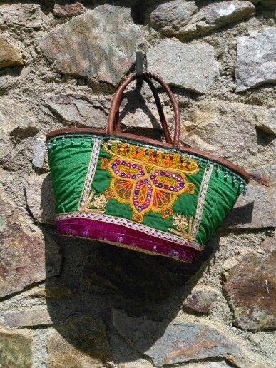 Cesto étnico exclusivo con2takones. www.con2takones.com