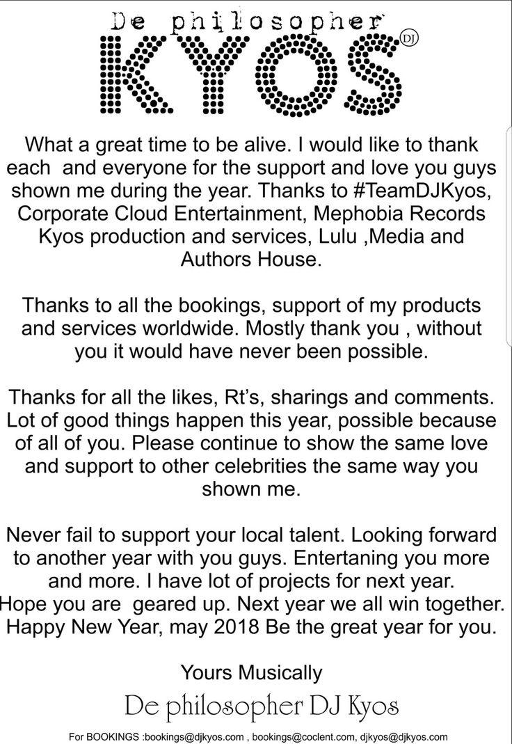 I appreciate you all. Thank you very much.  #De_philosopher_djkyos