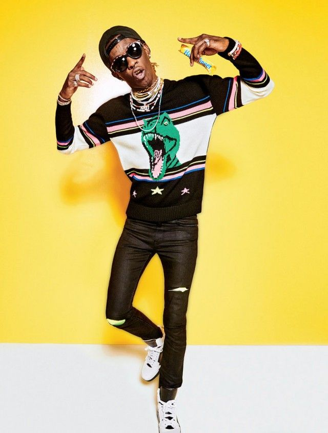 One of my dreams is to personally style young thug. I've been in connection with him and his management and his team and people near him. So hopefully I'm near my goal