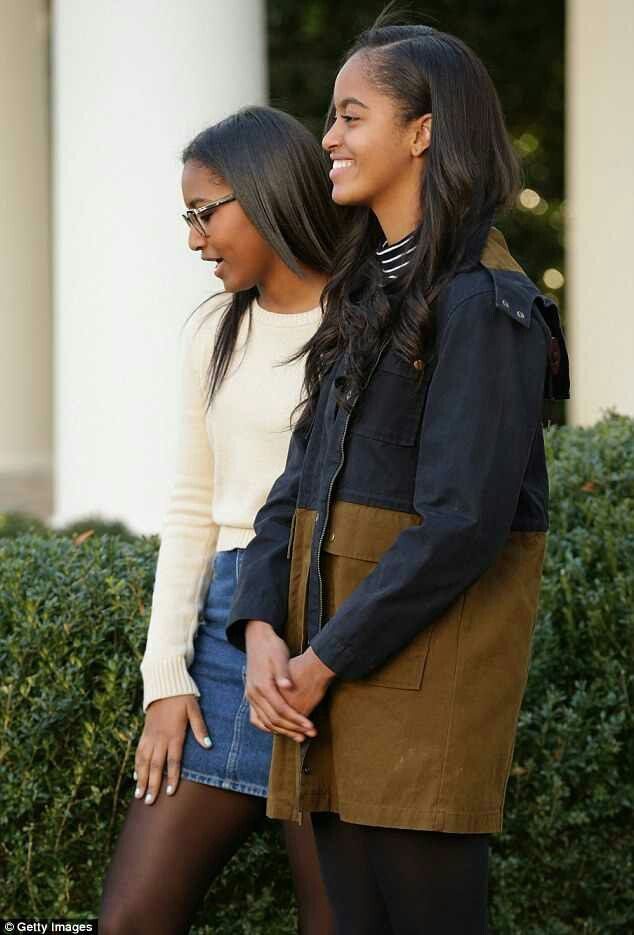 The First Daughters, Sasha & Malia Obama November 2015