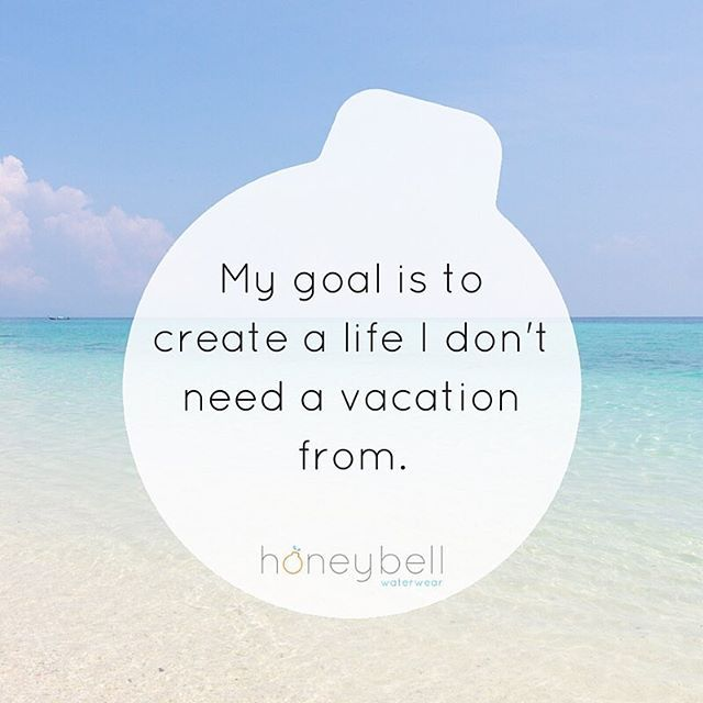 """When someone asks you how you are, all too often our first response is """"busy"""". I've been trying to stop that habit. To stop judging my self-worth on how busy I am.  Instead I'm focusing on my dream life.  A life I truely do not need a vacation from.  Join me and stop saying BUSY!! xoxo"""