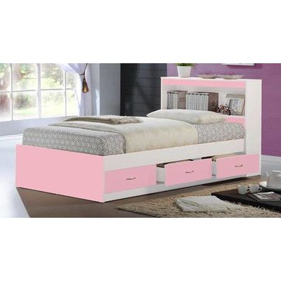 features great for kids male and female bookcase headboard included bedroom bedsstorage