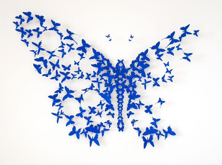 Perfect Paul Villinski, Paradigm II, 2012 Made From Found Aluminum Cans  One Of  Those Butterflies Could Be The Soda Can You Threw Out!