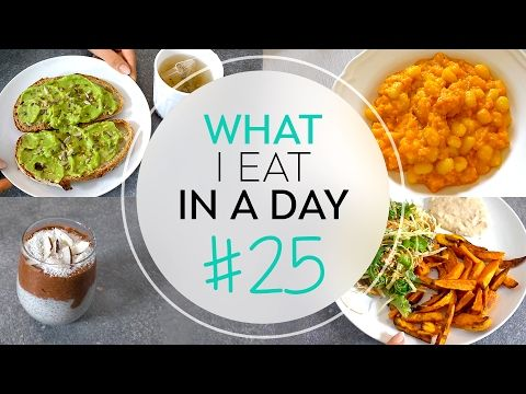COSA MANGIO IN UN GIORNO #25   What I eat in a day   GNOCCHI, PATATINE AL FORNO E TOAST CON AVOCADO - YouTube