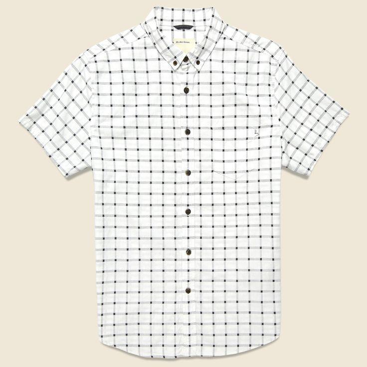 Strand Shirt - White Plaid